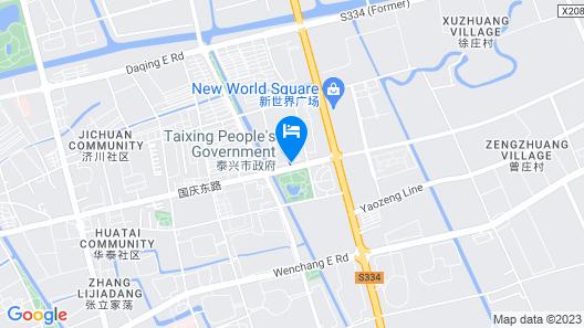 Taixing Shuqinyuan Hotel Map