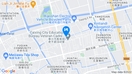 Greentree Guoqing Middle Rd Business Hotel Map