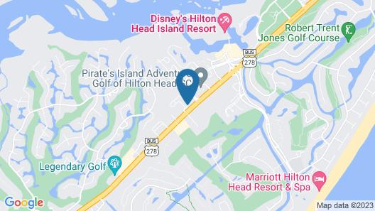 Home2 Suites by Hilton Hilton Head Map