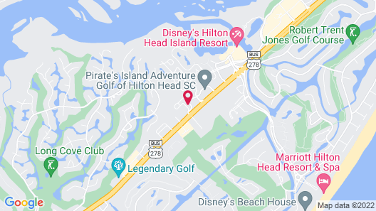 SpringHill Suites by Marriott Hilton Head Island Map