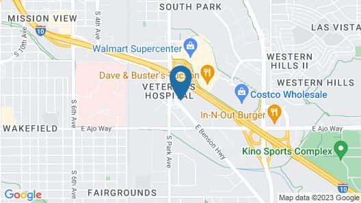 Motel 6 Tucson, AZ Map