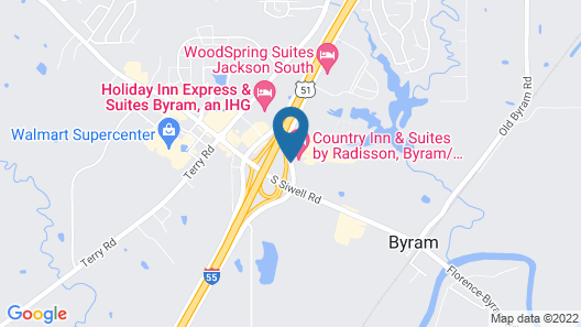 Country Inn & Suites by Radisson, Byram/Jackson South, MS Map