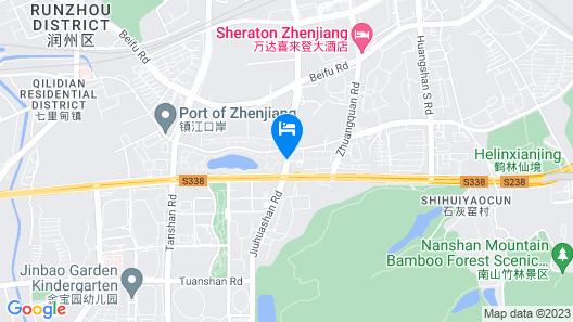 Jiuhua Jin Jiang International Hotel Map