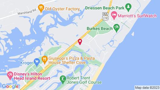 Hilton Head Resort 2br W/ Pools 2 Bedroom Condo Map