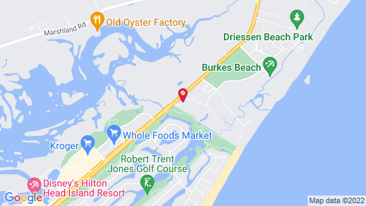 Hilton Head Resort Map