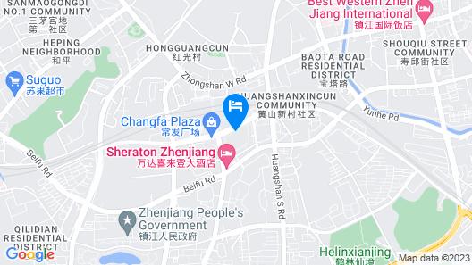 Zhenjiang Jingwei Hotel Apartment Map