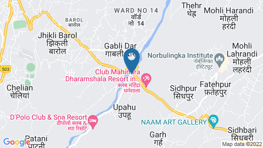 D'Polo Club & Spa Resort Map