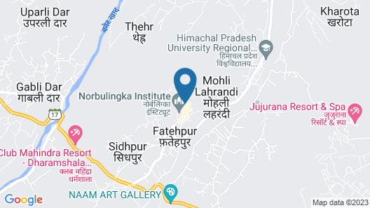 Sakura Guest House Map