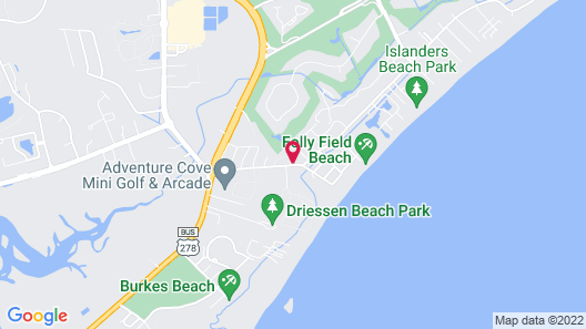 Hilton Head Island Beach & Tennis Resort Map