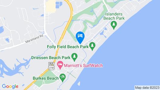 Hilton Head Island Beach & Tennis Resort Map