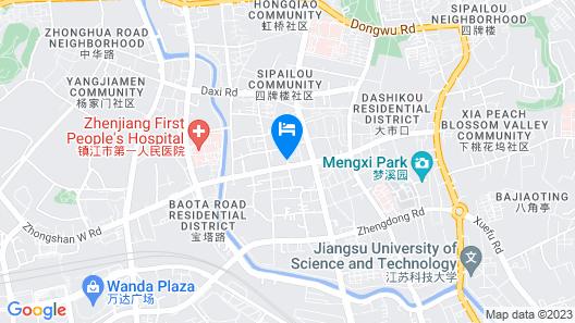 Hyatt Regency Zhenjiang Map