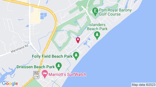 Folly Field #2K Fiddler's Cove - 2 Bedroom Condo Map