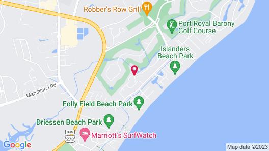 Ocean Palms Villas at Port Royal Resort Map