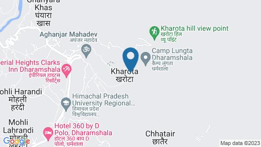 Nibaana Resort Map