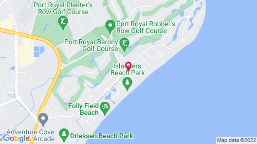 The Westin Hilton Head Island Resort & Spa Map
