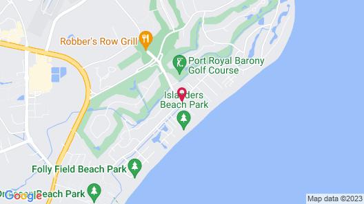 Marriott's Barony Beach Club Map
