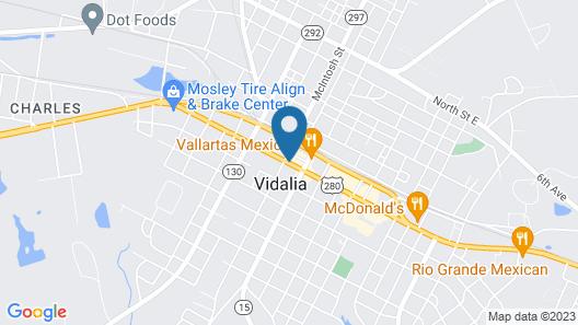 AmericInn by Wyndham Vidalia Map