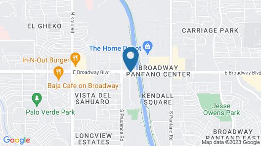 Hilton Tucson East Map