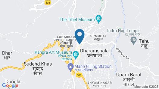 Hotel Asian Plaza Dharamshala Map
