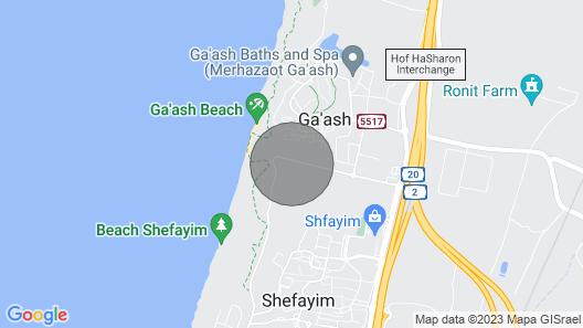 Gaash - Gorgeous 1 Bedroom Apartment Map