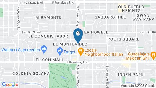 Lodge on the Desert Map