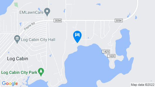 Tiny House Experience on the Cedar Creek Lake With Lake View. 26mi to Canton! Map