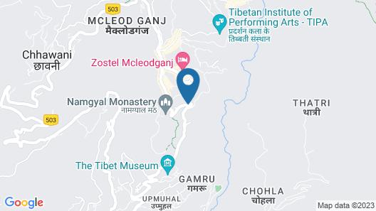 Hotel King Castle Map