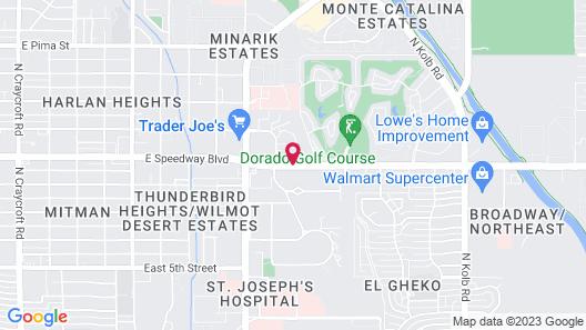 Sonesta ES Suites Tucson Map