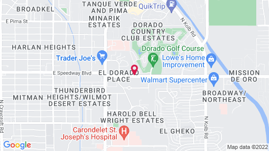 Embassy Suites by Hilton Tucson East Map