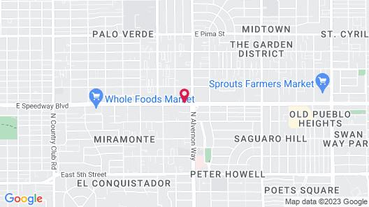 Varsity Clubs Of America - Tucson by Diamond Resorts Map