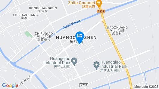 GreenTree Inn TaiXing Huangqiao Town Government Express Hotel Map