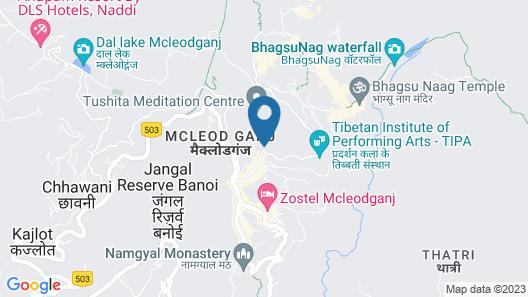 Hotel Dev Cottage Map