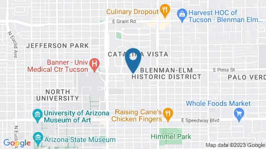 Arizona Inn Map