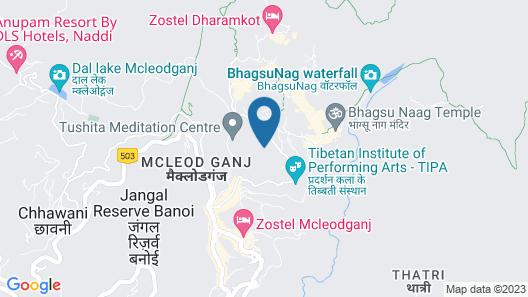 Hyatt Regency Dharamshala Resort Map
