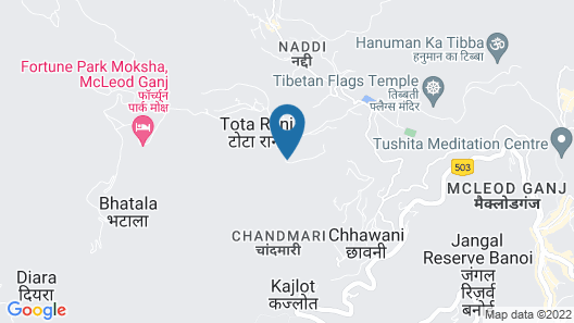 Indraprastha Spa Resort Map