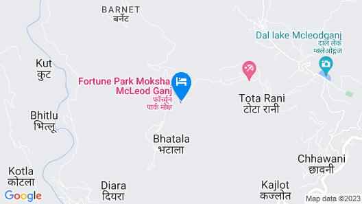 Fortune Park Moksha-Member ITC Hotel Group Map