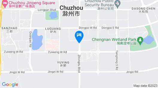 Sheraton Chuzhou Hotel Map