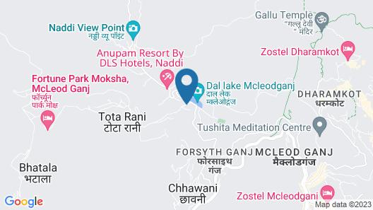 Hotel Shiva Sanctuary Map