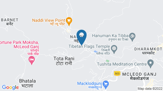 OYO 7025 Hotel Lake View Map