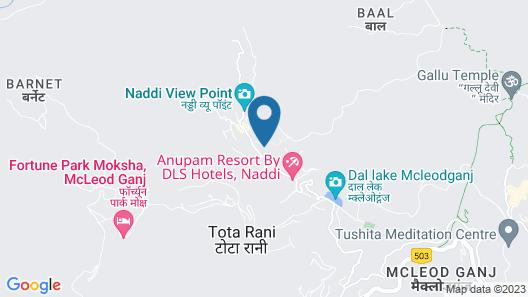 OYO 6981 Naddi Hights Map
