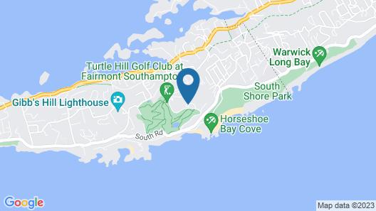 Fairmont Southampton, Bermuda Beach Resort Map