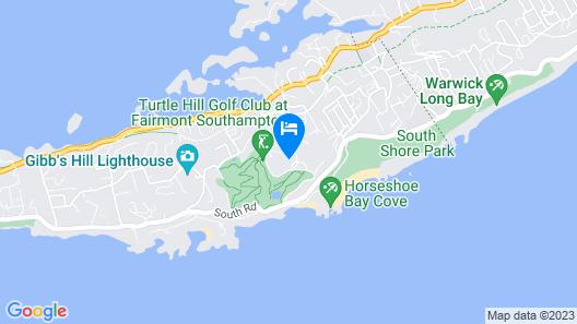Fairmont Southampton - All Inclusive Map