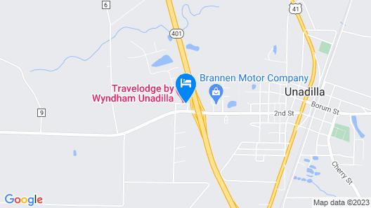 Travelodge by Wyndham Unadilla Map