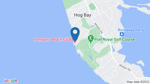 Pompano Beach Club Map