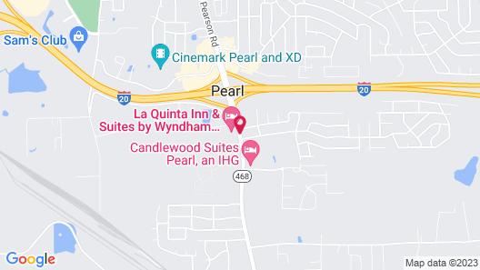 La Quinta Inn & Suites by Wyndham Jackson Airport Map