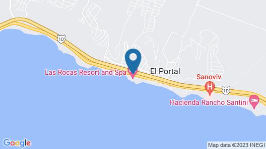 Las Rocas Resort And Spa Map