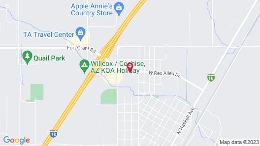 SureStay Plus Hotel by Best Western Willcox Map