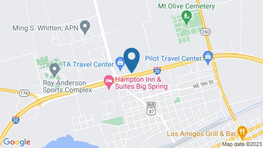 West Texas Inn Map