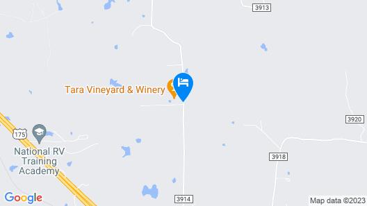 Tara Vineyard and Winery Map
