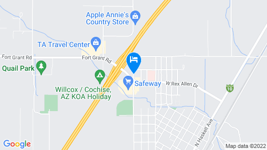 Willcox Inn Map